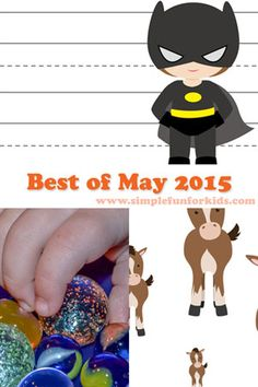 Best of May 2015 on Simple Fun for Kids!
