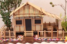 Sweet and Clever's Birthday / Filipino - Photo Gallery at Catch My Party Tropical House Design, Tropical Houses, Fiesta Theme Party, Party Themes, Party Ideas, Bahay Kubo Design, House Design Drawing, Hamptons Decor, Bamboo House