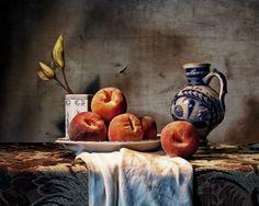 A Still Life with Peaches by Marac Andrzej Kolodzinski, via 500px