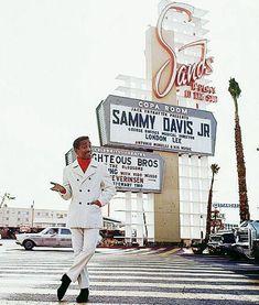 outside The Sands Hotel, Las Vegas, photo by Milton Greene Vegas Casino, Las Vegas Nevada, Cities, Sands Hotel, Sammy Davis Jr, Vintage Neon Signs, Old Signs, Sin City, Googie