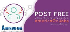 AmericaOnJobs helps to hire Executives, Managers, Sales staff and more  We provide huge candidate data and latest recruitment tools absolutely free.  Visit us @ www.americaonjobs.com  #OnlineJobFinder  #Jobs #JobPortal #LatestJobinUSA #JobSearch #CareerTips #JobTrends #CareerChoices #TechJobs #Vacancies #Opportunities #Careers #LatestJobinUSA #OnlineJobFinder Job Search Websites, Free Job Posting, Career Choices, Job Portal, Good Job, Online Jobs, Tools, Instruments