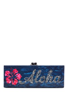 Shop Flavia Aloha Acrylic Clutch by Edie Parker Now Available on Moda Operandi BozBuys Budget Buyers Best Brands! ejewelry & accessories...  http://www.bozbuys.com/2014/05/assetsories.html