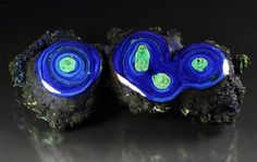 A love for minerals  azurite with malachite