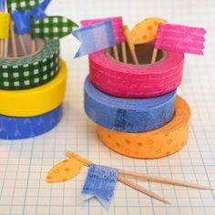 Dekoratives Gestalten mit dem japanischen Deko-Klebeband Washi Tape. Wir haben die schönsten Dekoideen zur Inspiration zusammengetragen.