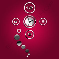 Decorative Wall Mirror Clock for every home and wall