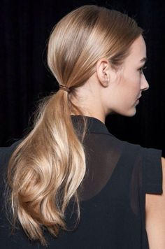 2015 Hairstyles: The Low Ponytail 2015 Hairstyles, Ponytail Hairstyles, Cool Hairstyles, Style Hairstyle, Fashion Hairstyles, Casual Hairstyles, Medium Hairstyles, Hairstyle Photos, Drawing Hairstyles