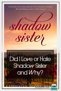 With a stunning cover and a fascinating synopsis, I couldn't imagine not loving Shadow Sister, but what if I didn't? That thought unnerved me until... via @chautonahavig