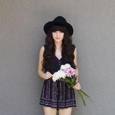 "robert & christina on Instagram: ""Rompers & flowers on this sunny Wednesday.  @urbanoutfitters @liketoknow.it www.liketk.it/1A1u6 #liketkit"""