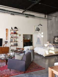 Inspired Image Of Studio Loft Apartment Ideas