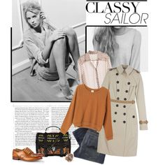 Pardon my French: created by #hipi on #polyvore. #fashion #style #Kara Nudie Jeans Co.