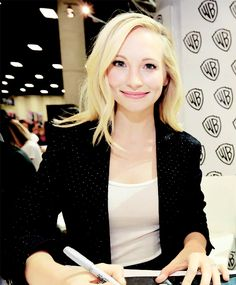 Candice Accola - Signing session during Comic-Con International 2016 at San Diego Convention Center