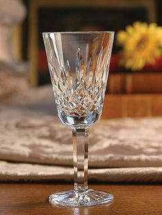 "Boxed Set of 4 Waterford Crystal Lismore Sherry Glasses by Waterford Crystal. $124.95. 5-1/8"" Tall. Set of 4 Sherry Glasses. Holds 2 oz. Waterford Lismore Crystal's classic and timeless design is known and loved the world over and graces the finest homes, castles, and places of prestige.. Save 49%!"