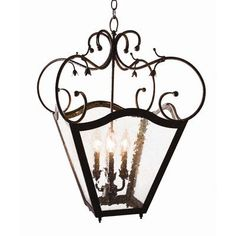 2nd Ave Design Terena 4 Light Outdoor Pendant Finish: Coffee Bean, Shade Type: Faux Alabaster