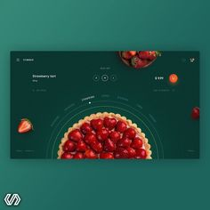 No photo description available. Web Design Trends, Food Web Design, Site Web Design, App Design, Web Banner Design, Layout Design, Web Layout, Creation Site, Portfolio Website Design
