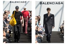 Here is the first-ever menswear collection from Balenciaga, designed by Vetements' Demna Gvasalia.