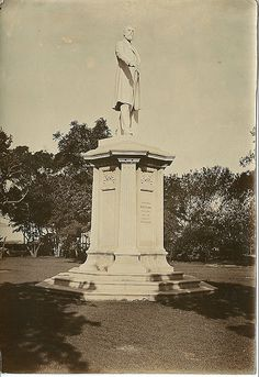 1915c Harry Escombe monument, Town Gardens, Durban Durban South Africa, African States, Zulu, Historical Society, Historical Photos, Touring, Statue Of Liberty, Cry, Spirit