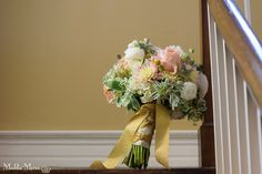 Bride's bouquet with shades of pink, ivory, and green. Floral by Southern Event Planners Event Planners, Bride Bouquets, Southern, Ivory, Shades, Bridesmaid, Fancy, Bridal, Celebrities