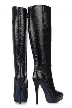 Black Leather Boots by Loriblu Designer Shoes Online, Mens Shoes Online,  Closet Accessories, 7840fe1574