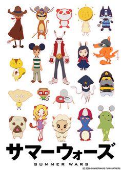 Summer Wars avatar poster