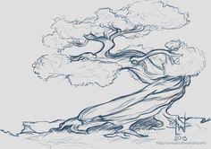 Bonsai Tree by umisaru