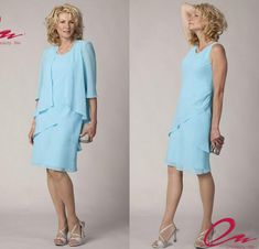 casual mother of the bride dresses with jackets