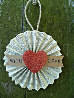 EVERY tree needs a heart on it to show the world it was decorated with LOVE.