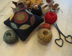 See my pincushion pattern at www.countrylanequilts.com