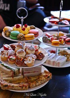 Afternoon Tea At Little Darling Diner, Balmain - English Tea Afternoon Tea Recipes, Afternoon Tea Parties, Brunch, Tea Party Sandwiches, Sandwich Menu, Deco Cafe, Christmas Tea, Snacks, Finger Foods