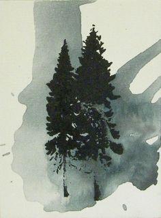 Gaia Lionello,serie evoluzione, 18x24, serigrafia e acrilico su tela, 2010