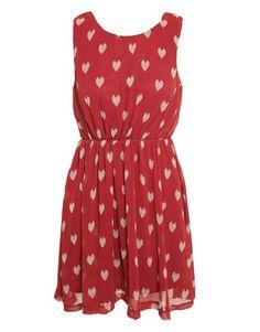 AX Paris Heart Print Day Dress