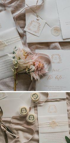 Bonjour Paper Crest #hochzeitseinladung #hochzeitspapeterie #buettenpapier #büttenpapier #edlehochzeitseinladung #weddingpapergoods #weddinginvitation