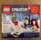 Lego Creator Set #40107 Seasonal 2014 Winter Ice Skating Scene Limited New NISB!