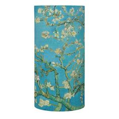 Blossoming Almond Tree by Van Gogh Flameless Candle -nature diy customize sprecial design