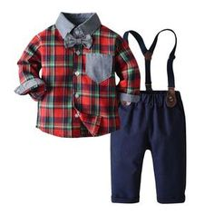 Cute Boy Outfits, Dance Outfits, Pants Outfit, Outfit Sets, Dress Suits, Dress Up, Bow Tie Shirt, Bow Ties, Suspender Pants