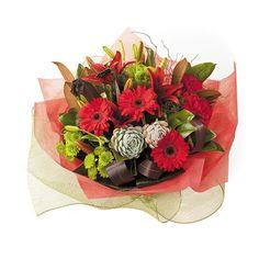 Flower arrangements Gerberas: Winter