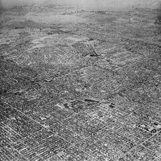Mass, Crowds . Aerial View . by David Maisel