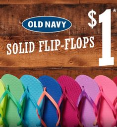 d5200feaafd0 Old Navy Cardholders   1 Flip Flops Sale 🔥🔥(5 25 - 5 28). Note this  future date sale