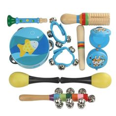 Mini Wooden Ball Children Toys Percussion Musical Instruments Sand Hammer High Quality Levert Baby Rattles Toy Wooden Ball For Sale Toys & Hobbies