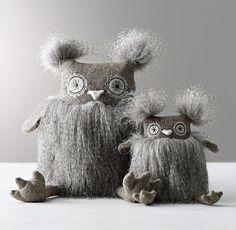 Wooly Plush Owl