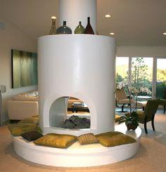 LA Good Questions: Custom Seat Cushions for Circular Fireplace?