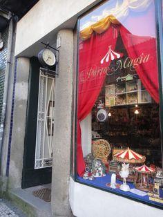 Porto de Magia | Uma loja mágica onde podem encontrar brinquedos deste tempo e do outro...na Rua Formosa.