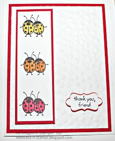 2016  Card Stock: Extra Thick Whisper White, Real Red  Stamp/s: Love You Lots Ink: Basic Black, Daffodil Delight, Pumpkin Pie, Real Red Punches: Decorative Label Punch Accessories: Dimensionals, Tombow Mono Glue, Decorative Dots TIEF (retired)