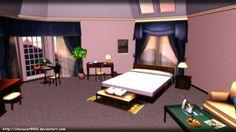 Bedroom Scenery - MMD stage DL by DiemDo-Shiruhane.deviantart.com on @DeviantArt