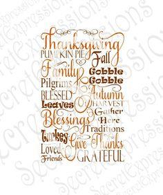 Thanksgiving Subway Sign Svg, Thanksgiving Sign Svg, Thanksgiving Svg, Digital Cutting File, JPEG, DXF, SVG, Cricut Svg, Silhouette Svg