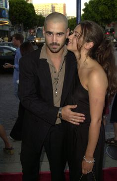 Pin for Later: These Vintage Photos of Colin Farrell Are the Kinds of Things Your Parents Warned You About 2001