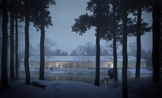 Gallery of Young Architects Win First Prize for Museum of Forest Finn Culture in Norway - 1