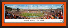 Virginia Cavaliers Football Panoramic - Scott Stadium Picture $199.95