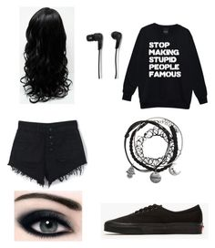 """""""Untitled #325"""" by laurel8760 on Polyvore featuring WithChic, Bang & Olufsen and Vans"""