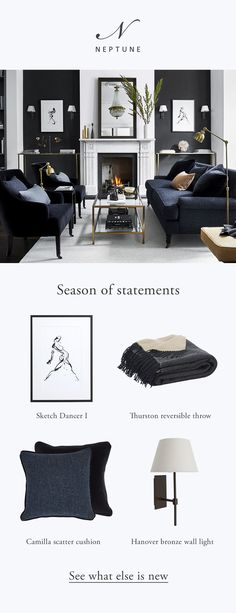 Season of statements - LBW INTERIORS Season of statements Explore our autumn collection Living Room Colors, Formal Living Rooms, Living Room Modern, Home Living Room, Living Room Decor, Bedroom Decor, Interior Design Living Room Warm, Home Interior Design, Living Room Designs