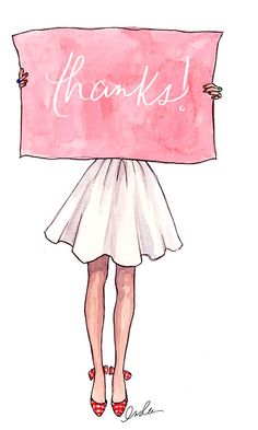 The Sketch Book – Inslee Haynes | Fashion Illustration by Inslee | Page 10 THANKS FOR FOLLOWING ME!